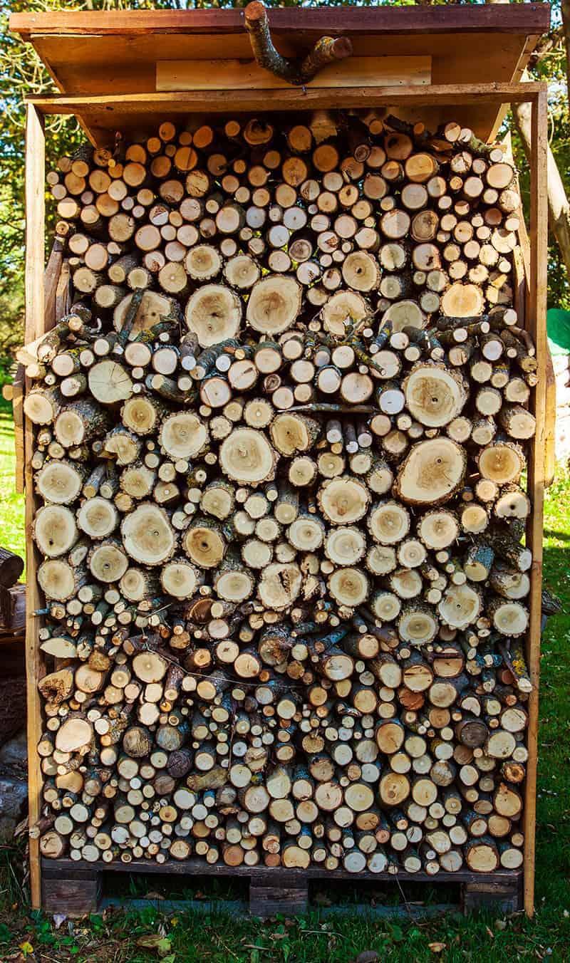 Wymiary drewutni