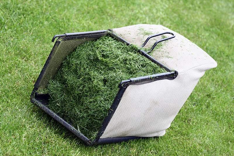 Kompostowanie skoszonej trawy