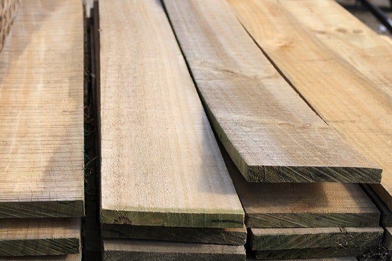 Altana drewniana materiały budowlane