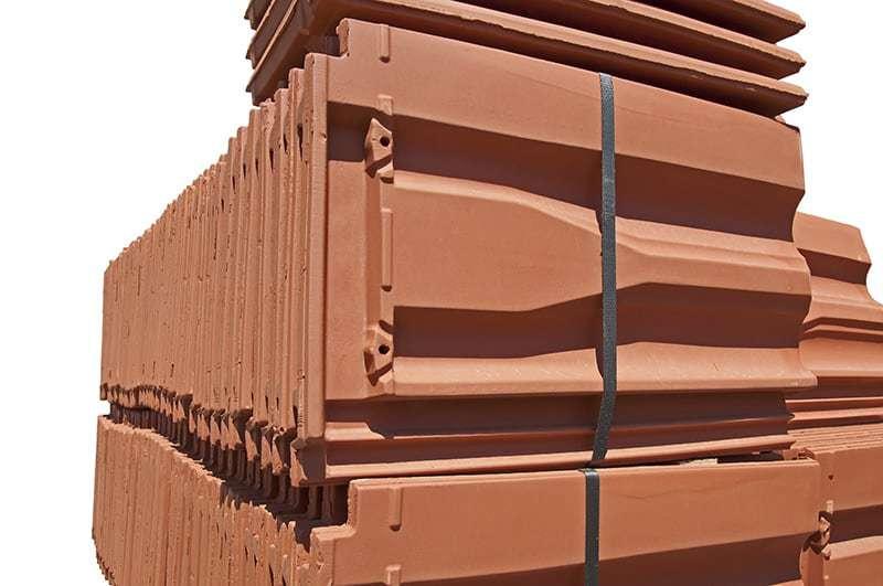 Dachówka ceramiczna zakładkowa