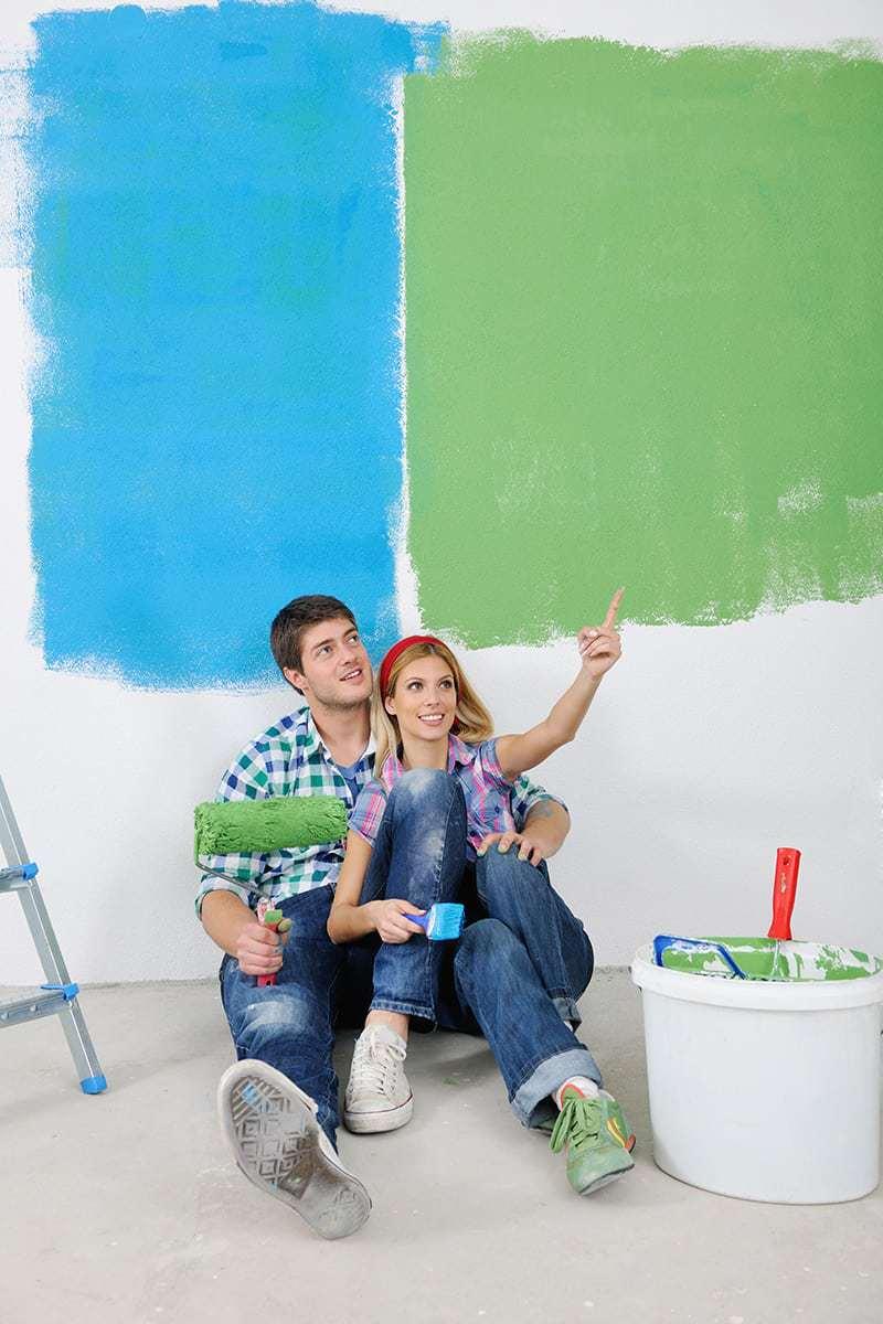 Kolor ścian, a wystrój wnętrza