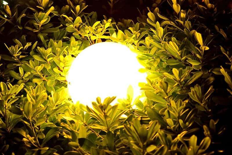 Lampy ogrodowe kule