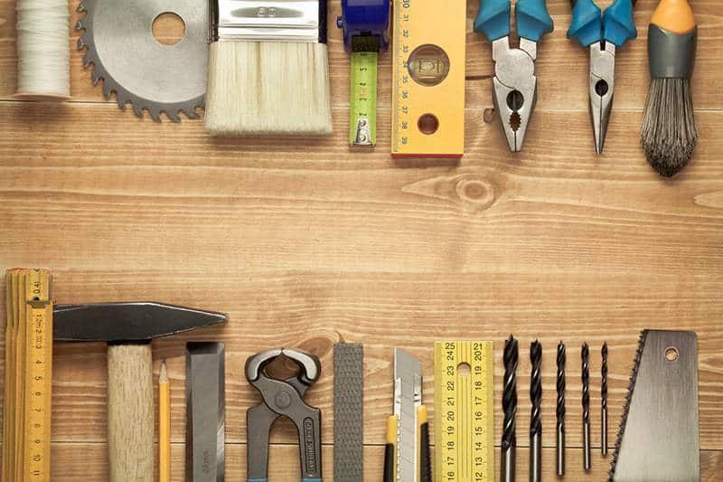 Wyposażenie domku na narzędzia