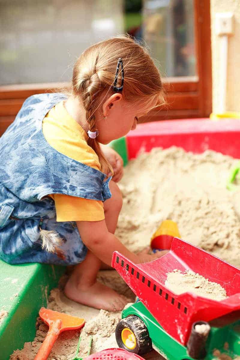 Jak zbudować piaskownicę?