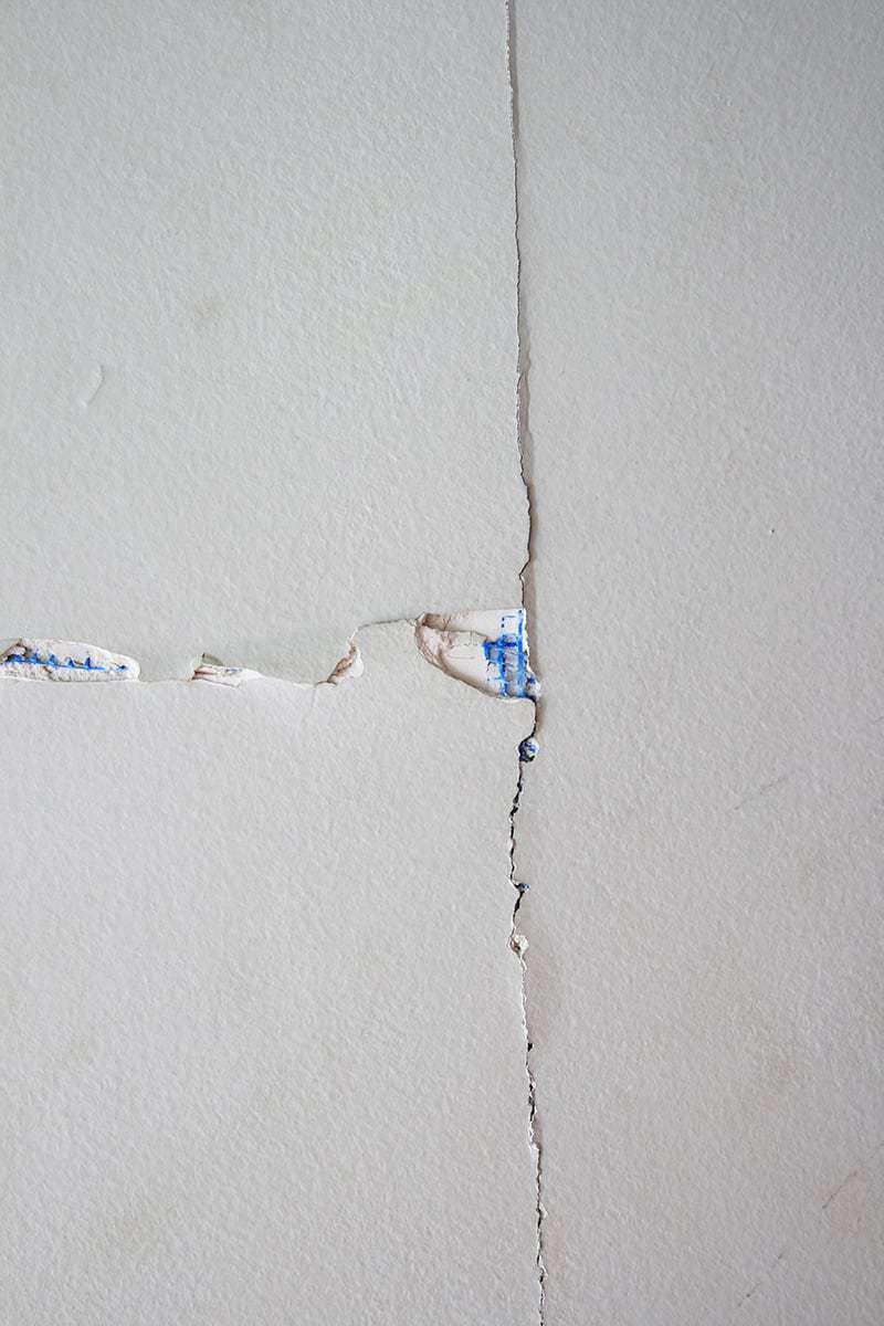 Ścianki działowe pękają?