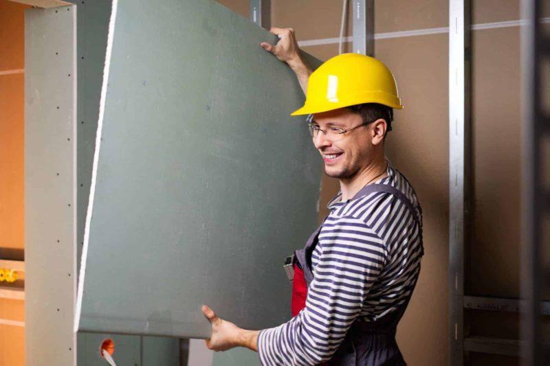 Ścianki działowe gk, murowane, czy szklane? Montaż ścianek [krok po kroku]