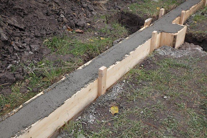 Ławy fundamentowe betonowe