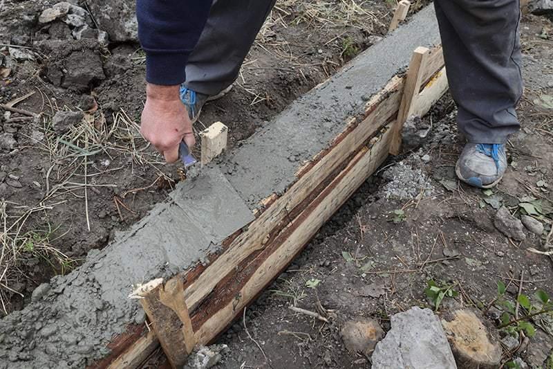 Etapy wykonania ławy fundamentowej