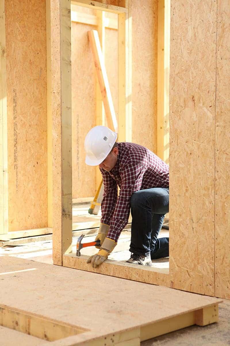 Płyty MFP na budowie