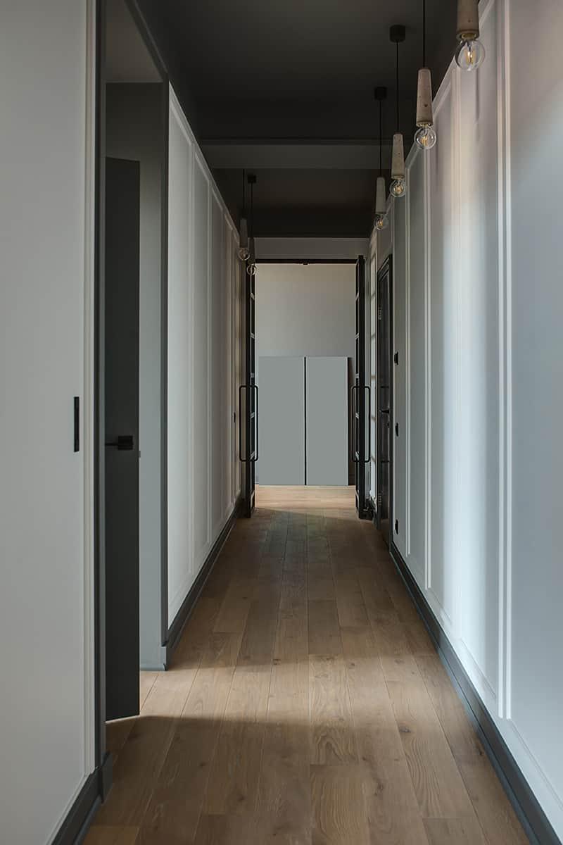 Pomieszczenia wąskie i długie