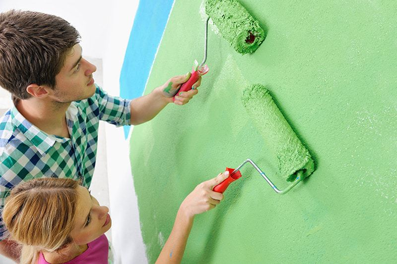 Zastosowanie farb lateksowych