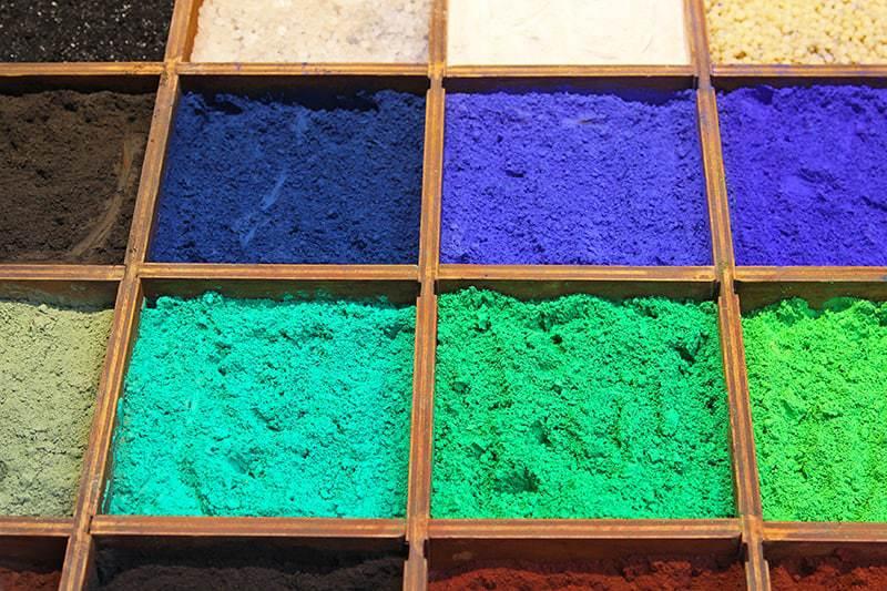 Charakterystyka farb kredowych