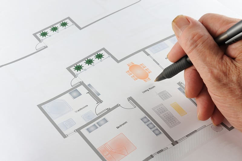 Plan pomieszczenia