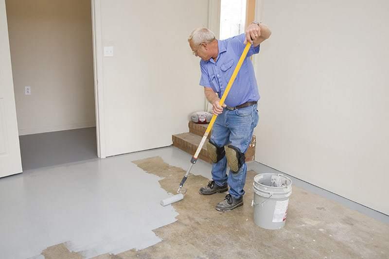 Zastosowanie farb do betonu
