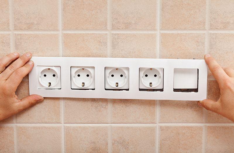 Gniazdka elektryczne rozmieszczenie w domu