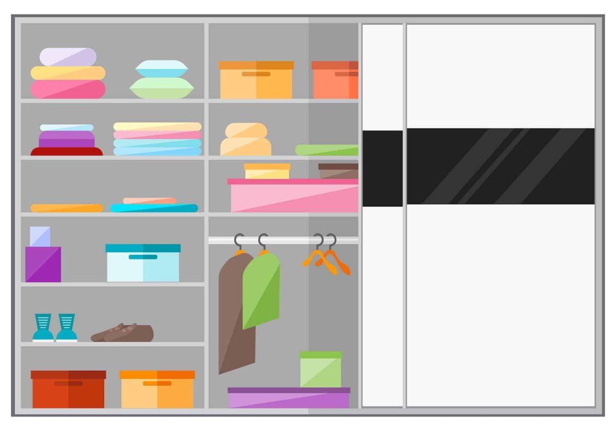 Szafy do zabudowy: rodzaje, ceny i projekty szafy pod zabudowę