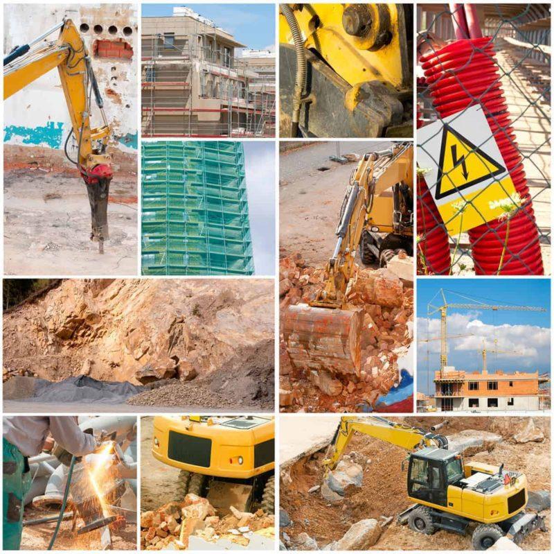 Maszyny budowlane niezbędne przy budowie domu