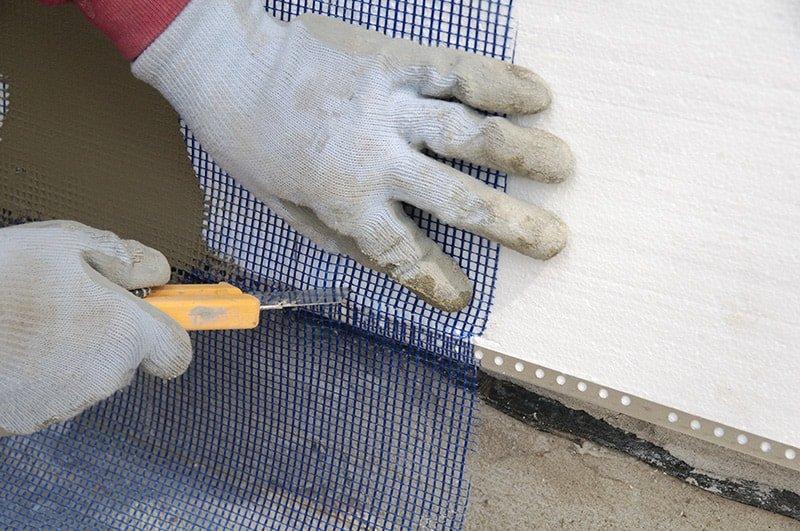 Сетка армирующая для полистирола