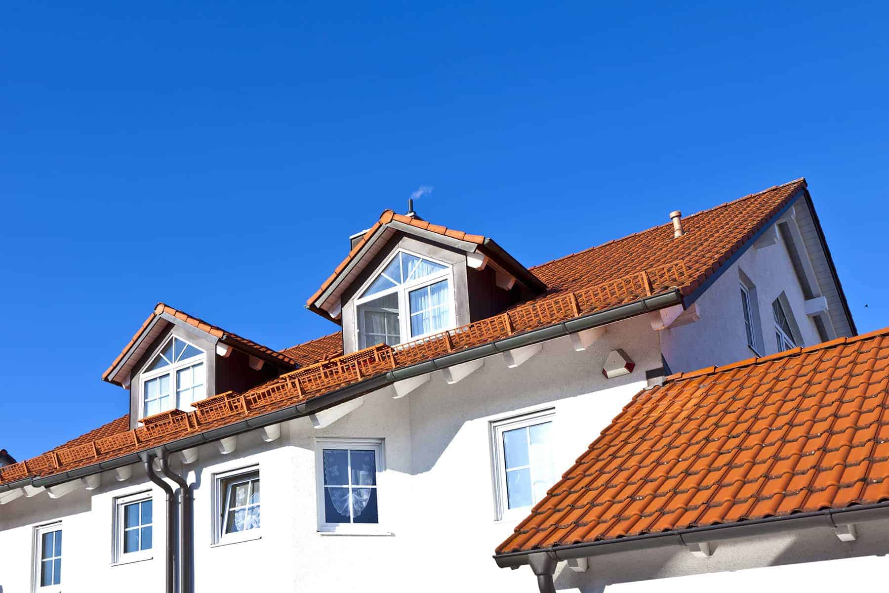 Dwuspadowy dach
