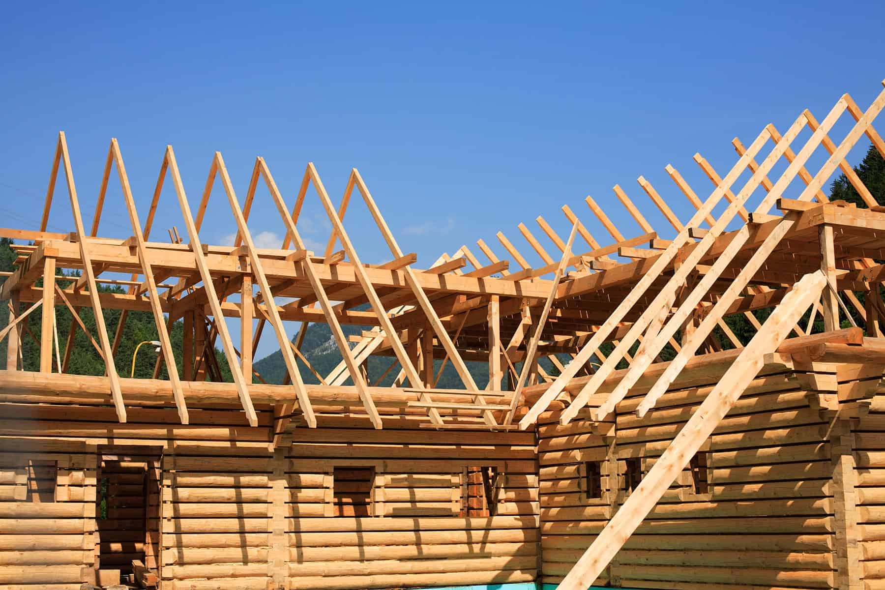 Dach płatwiowo kleszczowy