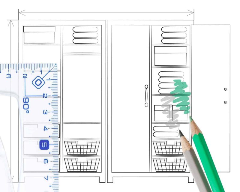 szafy na wymiar 800x640 - Szafy na wymiar: jaką wybrać i ile kosztują szafy do zabudowy?
