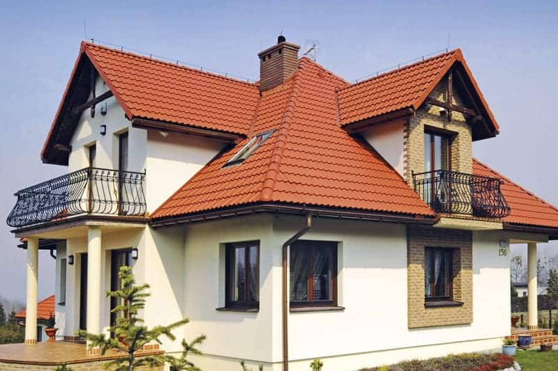 Dachówki cementowe