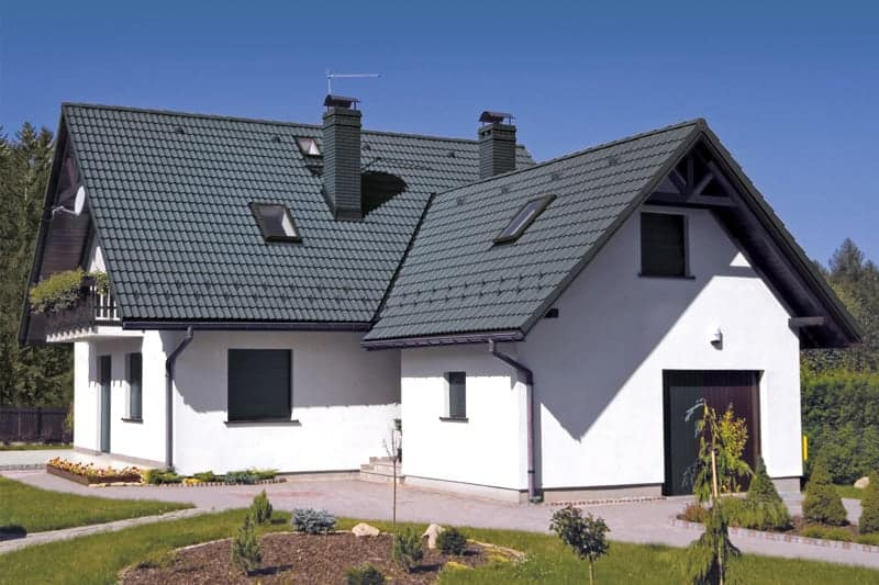 Powierzchnie na dachówkach cementowych - Dobra powierzchnia – sekret trwałości dachówki cementowej