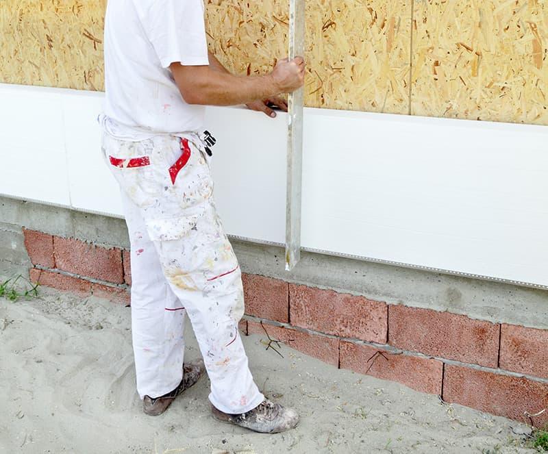 Ocieplanie ścian styropianem