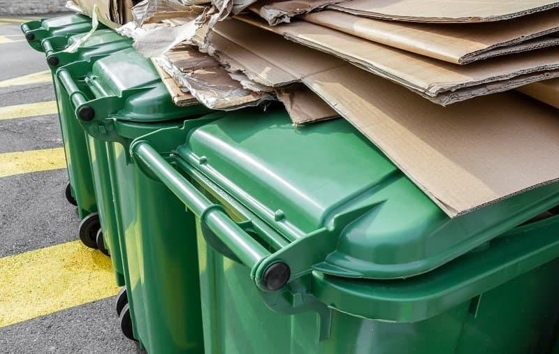 Wielkość pojemników na śmieci