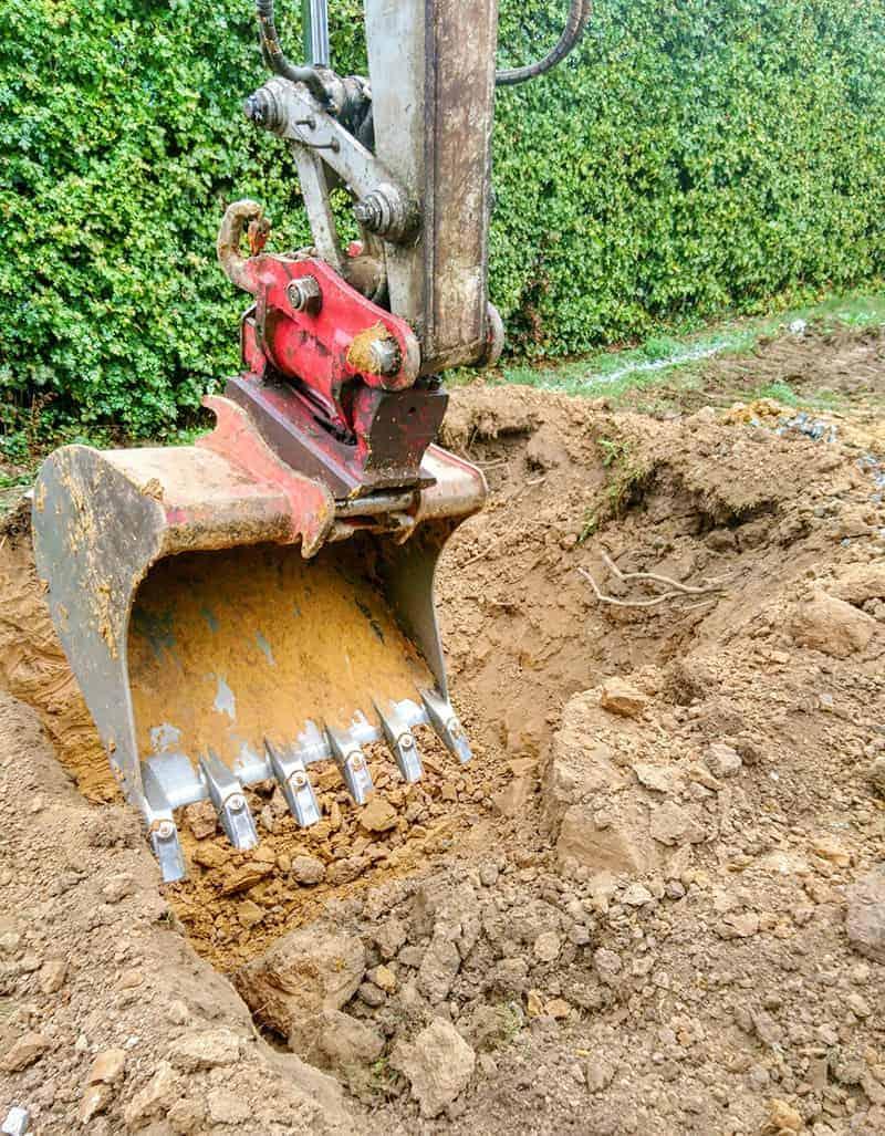 Wykopy i prace ziemne na budowie - pozwolenia