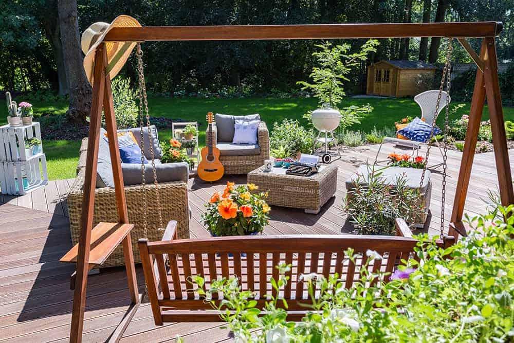 Huśtawka ogrodowa cena