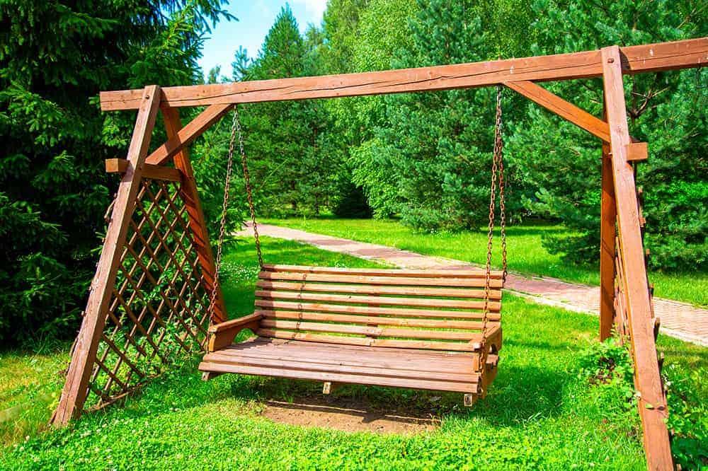 Huśtawka ogrodowa montaż krok po kroku