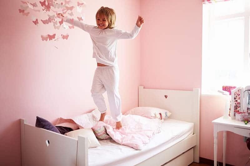 Kolory w pokoju dla dziewczynki
