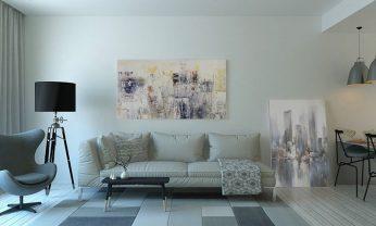Wygodna sofa lub kanapa