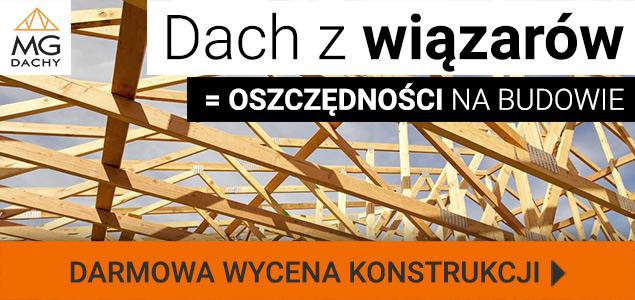 Wiązary dachowe MG Dachy