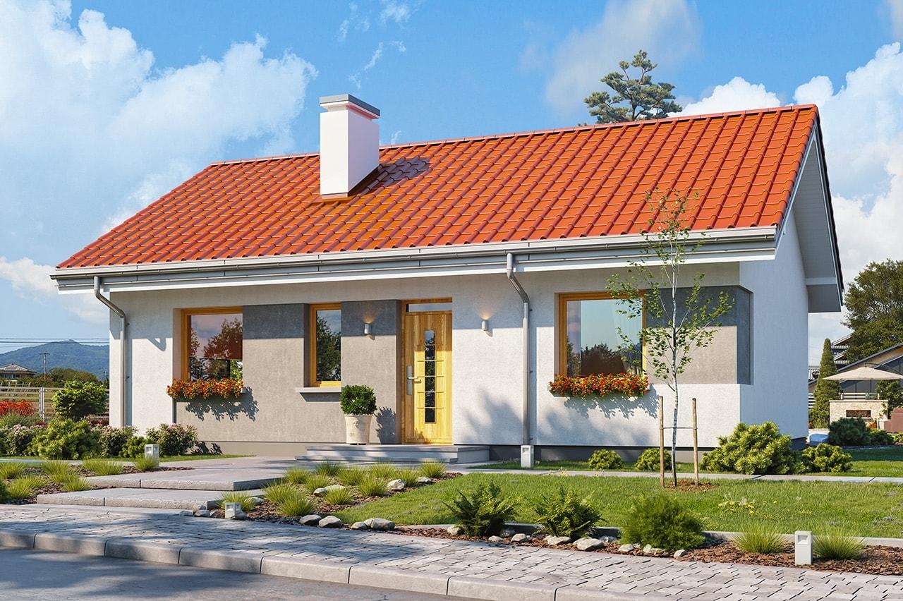 Projekty domów 70m2
