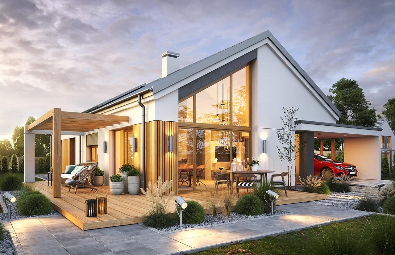 Projekty domów stodoła
