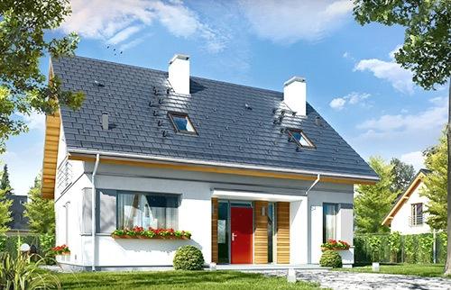 Projekty domów miejskich