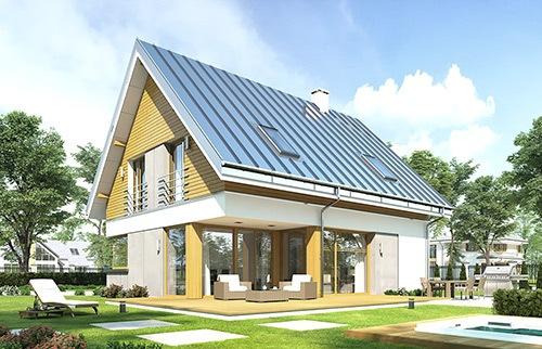 Projekty domów z kotłownią na paliwo stałe
