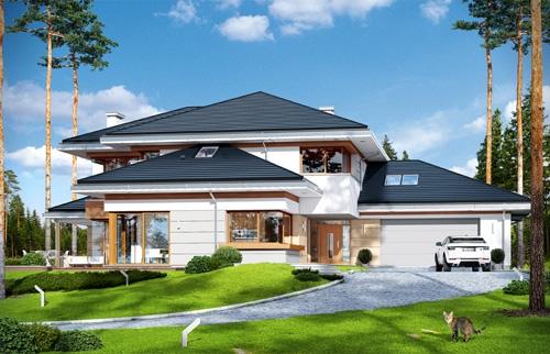 Projekty dużych domów