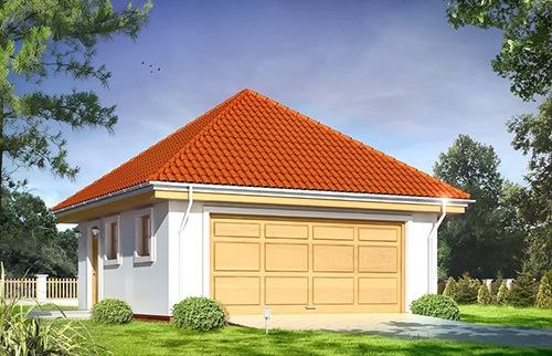 Projekty garaży
