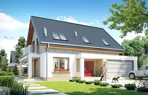 Projekty domów do 140 m²