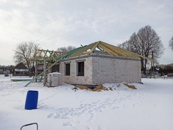 Realizacja domu Dom na dębowej