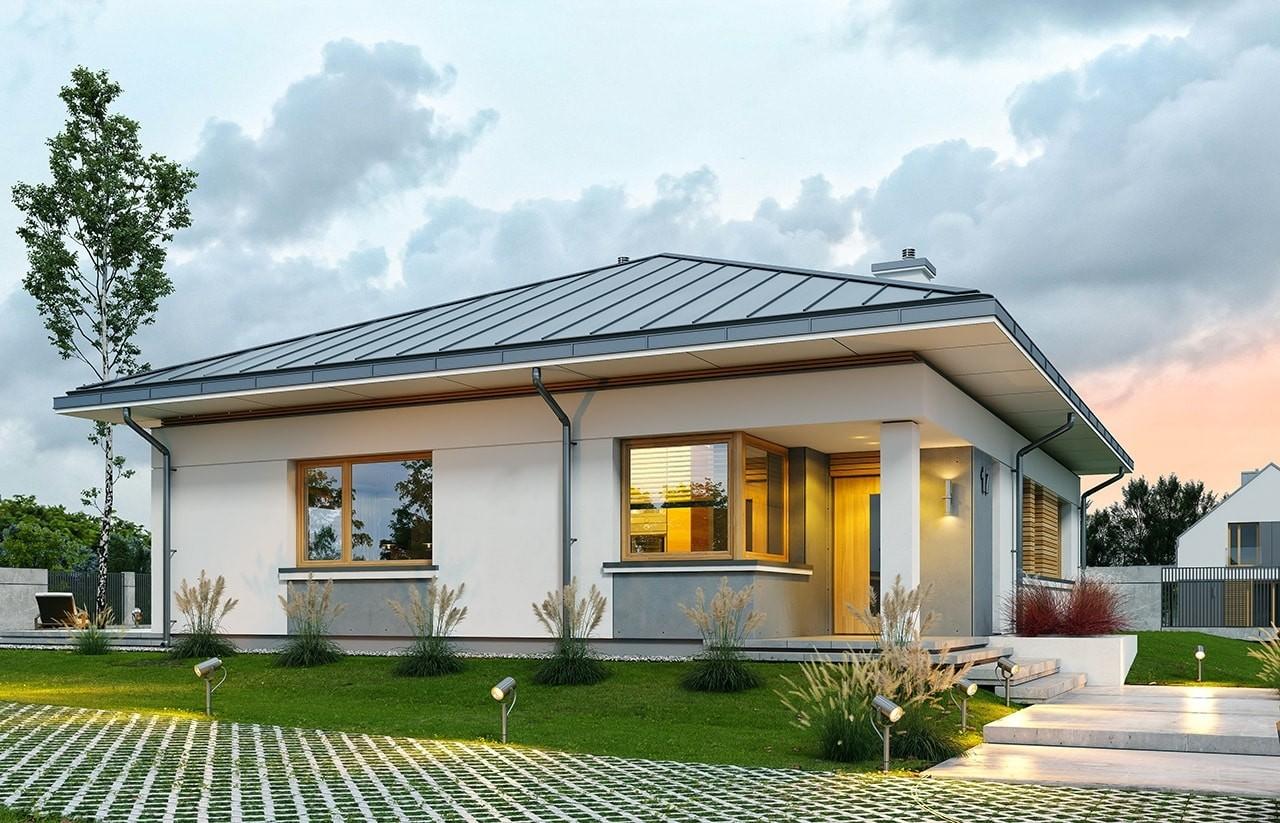 Projekt domu Wspaniały 3 - wizualizacja frontu