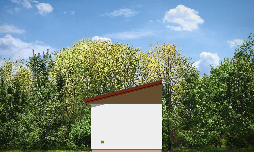 Garaż BG03 - elewacje