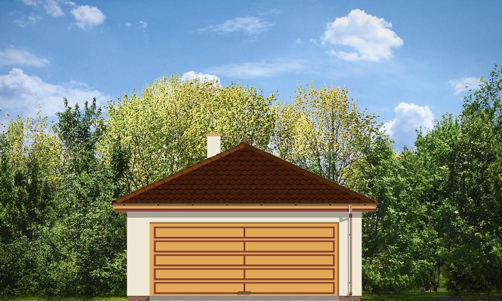 Garaż BG14 - elewacje
