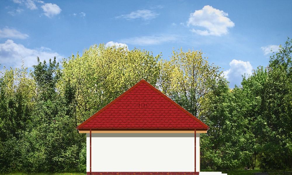 Garaż BG100 - elewacje