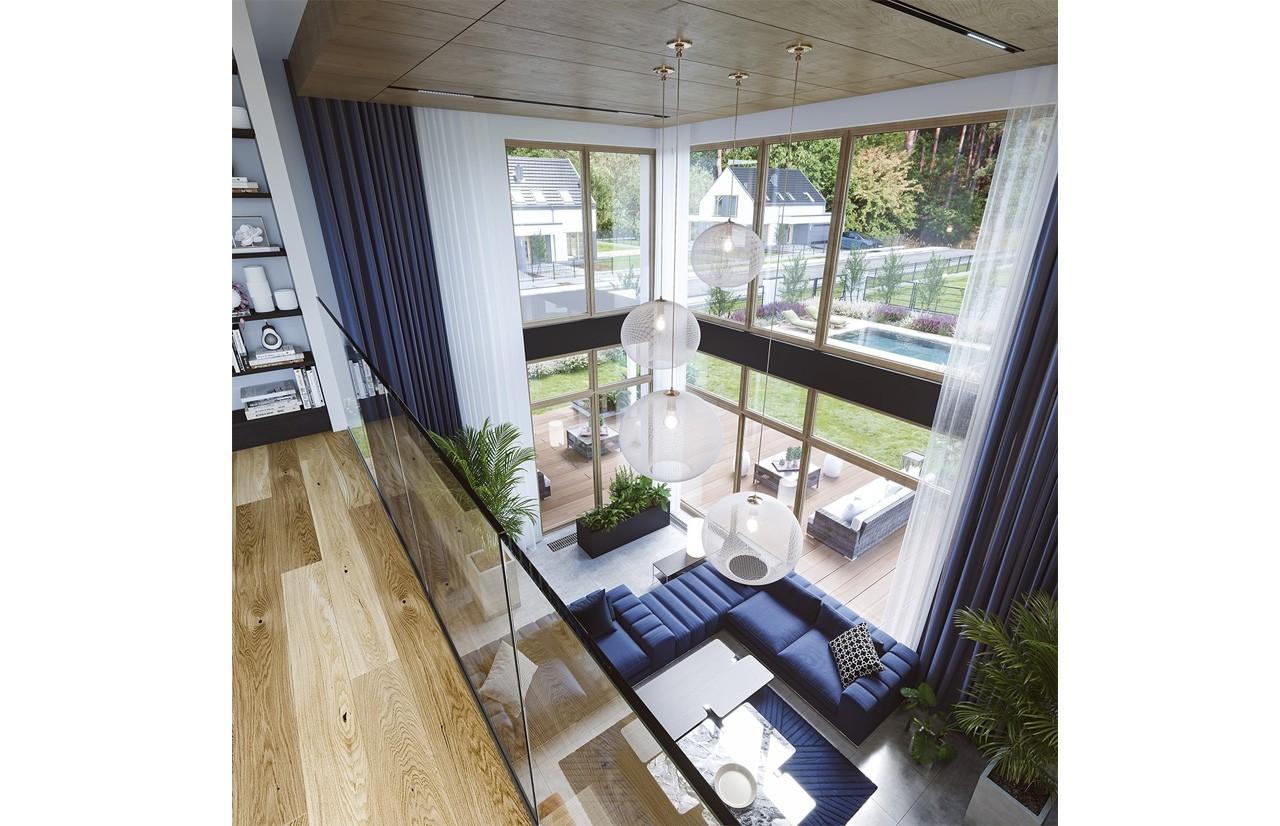Wnętrze domu Willa moderna