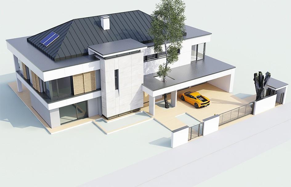 Projekt domu Willa Floryda