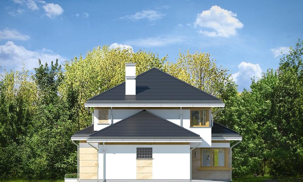 Dom z widokiem 5 - elewacje